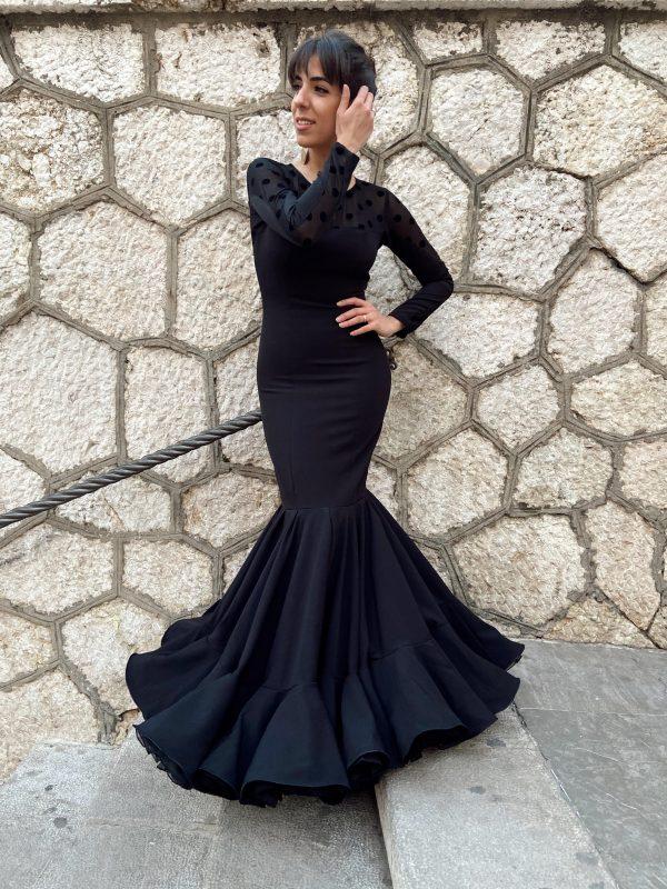 vestido moda flamenca